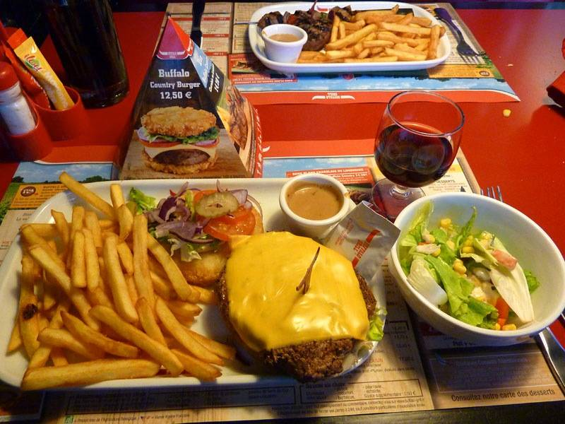 Steakhouse buffalo the menu prices reviews and addresses lunchpoint - Menu buffalo grill tarif ...
