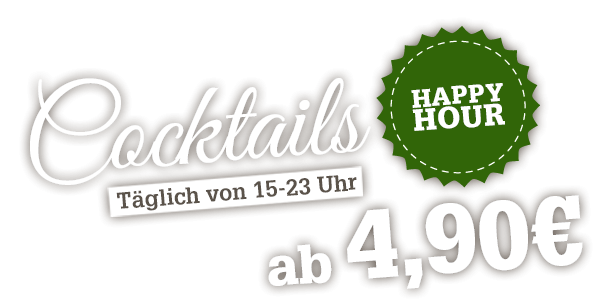 Offer Happy hour in Buffalo Grill Restaurant