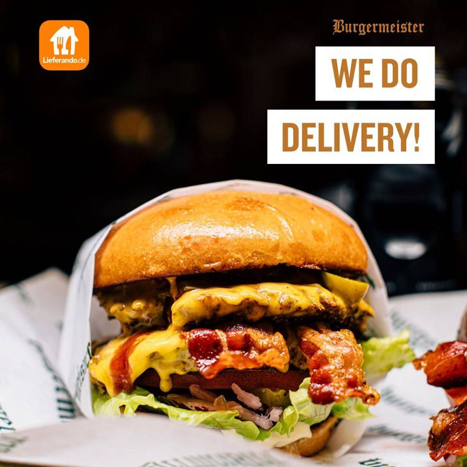 Offer Take Away from Burgermeister!