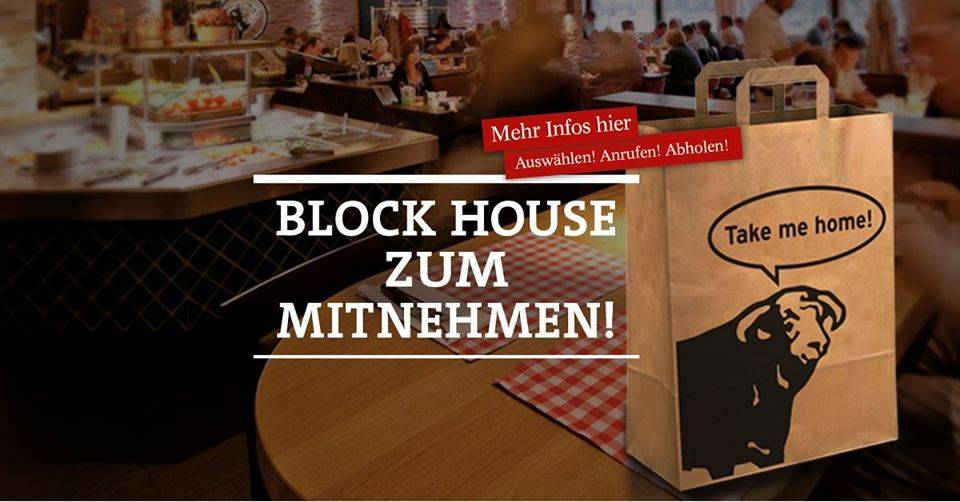 Offer Block House Berlin - Takeaway-Service!