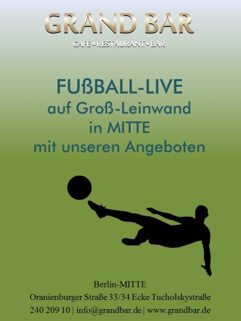 Offer Live-sport im Grand Bar